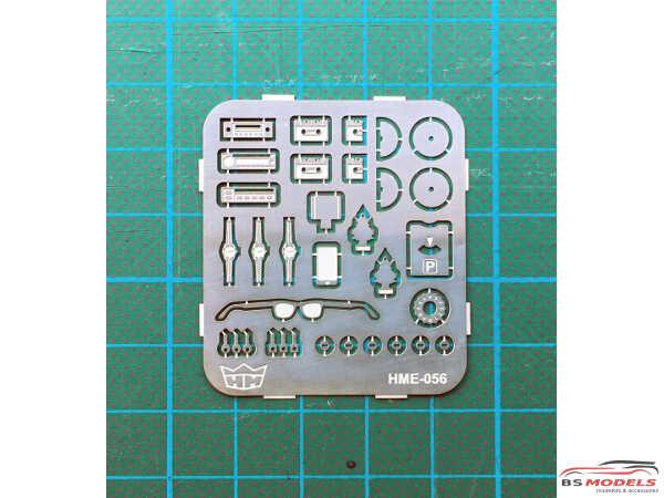 HME056 Interior detail set 2 Etched metal Accessoires