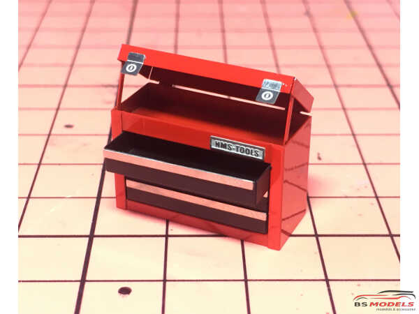 HME059 3 drawer tool box Etched metal Accessoires