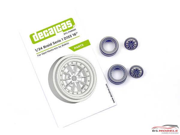 DCLPAR001 Braid serie 1 D155 - 15 inc rim Resin Accessoires