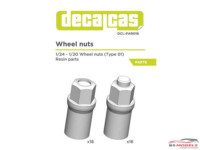 DCLPAR018 Wheel nuts   16+16 pcs Resin Accessoires