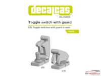 DCLPAR019 Toggle switch with guard   10 + 10 pcs Resin Accessoires