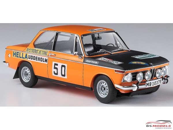 HAS20381 BMW 2002ti Swedish Rally 1971 Plastic Kit