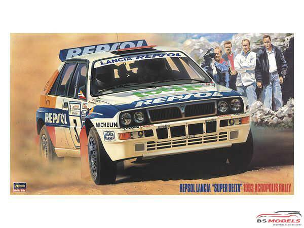 HAS20433 Repsol Lancia Super Delta Acropolis rally 1993 Plastic Kit