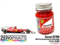ZP1007-30-1 SF70H (2017 Formula One) Red Paint  30ml Paint Material