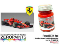 ZP1007-30-16 SF71H (2018 Formula One) Red Paint  30ml Paint Material