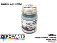 ZP1103-30 Gulf Blue Paint 30ml Paint Material