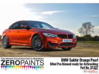 ZP1127-1 BMW Sakhir Orange Pearl Paint 60 ml Paint Material