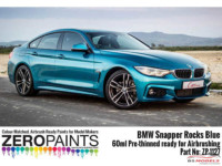 ZP1127-2 BMW Snapper Rocks Blue Pearl Paint 60ml Paint Material