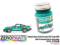 ZP1276-30 Valliant Green Paint  (Porsche 934)  30ml Paint Material