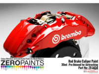 ZP1434 Brake Caliper Red Paint 30ml Paint Material