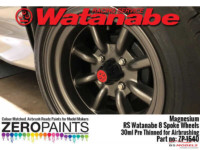 ZP1540 Magnesiul Paint for RS Watanabee 8 spoke wheels 30ml Paint Material