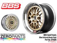 ZP1575 BBS Wheel Gold Paint 30ml Paint Material