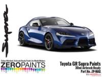 ZP1612-4 Toyota GR Supra Deep Blue Paint 30ml Paint Material