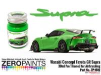 ZP1612-5 Toyota GR Supra Wasabi Concept Green Paint 30ml Paint Material