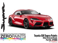 ZP1612-6 Toyota GR Supra Prominence Red Paint 30ml Paint Material