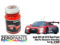 ZP1636 Audi R8 LM GT3 Red Paint  30ml Paint Material
