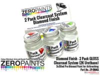 ZP3043 Diamond Finish - 2 Pack GLOSS clearcoat system (2K Urethane) 3x30ml Paint Material