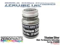 ZPM1010 Zero Metal Titanium Silver Paint 30ml Paint Material