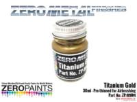 ZPM1011 Zero Metal Titanium Gold Paint 30ml Paint Material