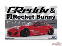 AOS05093 2012 Toyota 86 Greddy & Rocket Bunny Plastic Kit