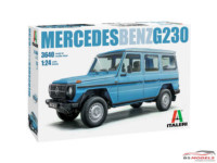 ITA3640S Mercedes Benz G 230 Plastic Kit