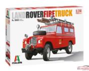 ITA3660S Land Rover Fire Truck Plastic Kit
