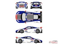 RDE24002 Mclaren MP12-4C GT3  #17  FFSA GT Tour 2012 Waterslide decal Decal
