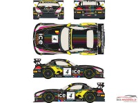 RDE24005 BMW Z4  GT3  #4  Baku World Challenge 2013 Waterslide decal Decal