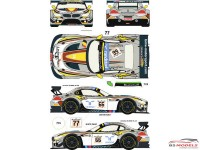 RDE24009 BMW Z4  GT3  #66/77  24H Spa 2014 (Marc VDS Racing) Waterslide decal Decal