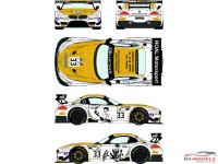 RDE24016 BMW Z4 GT3  #33  BBS Zolder 2014 (Roal Motorsport) Waterslide decal Decal
