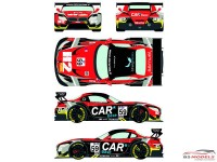 RDE24019 BMW Z4  GT3  #59  ELMS  San Marino 2015 Waterslide decal Decal