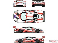 "RDE24023 Ford GTLM  #66  ""Motorcraft"" Rolex 24H Daytona 2019 Waterslide decal Decal"