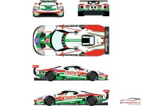 "RDE24024 Ford GTLM  #67  ""Castrol""  Rolex 24H Daytona 2019 Waterslide decal Decal"