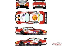 RDE24030 BMW M6 GT3  #42  ADAC  Zurich 24H Nurburgring 2017 Waterslide decal Decal