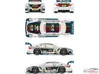 "RDT24002 BMW M3 DTM  #21  ""Ice Watch""  2013  (M.Witmann) Waterslide decal Decal"