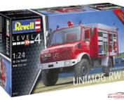 REV07531 Unimog Schlingmann RW1 Plastic Kit
