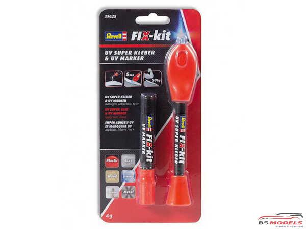 REV39625 Fix Kit UV Superkleber Glue Material