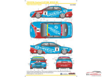 SK24098 Toyota Carina E ST190  BTCC '93 decals + rims Waterslide decal Decal