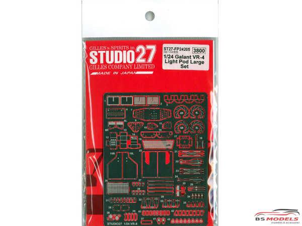 STU27FP24205 Mitsubishi Galant VR-4 upgrade parts + large lightpod set Multimedia Accessoires