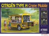 EBR25013 Citroën Type H  Crepe Mobile with figure Plastic Kit