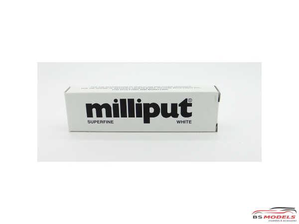 MIL04 Milliput Putty Super Fine White 2 part epoxy Multimedia Material