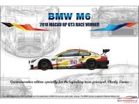 PN24008 BMW  M6  GT3  2018  Macau GP Winner Plastic Kit
