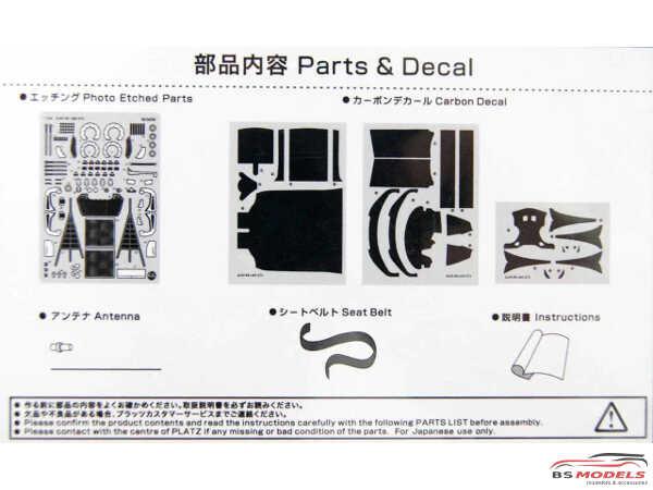 PNE24004 Audi R8 LMS GT3 grade up parts Multimedia Accessoires