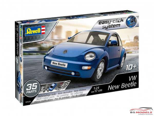 "REV07643 VW New Beetle  ""Easy Click"" Plastic Kit"