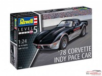 REV07646 1978 Corvette Indy Pace Car Plastic Kit