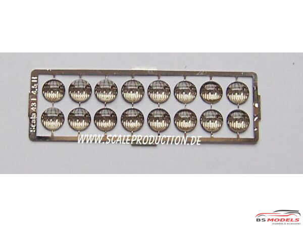 SC43-5 Headlights  5 mm (16 pcs) Multimedia Accessoires