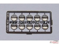 SC43-7 Headlights  7 mm (10 pcs) Multimedia Accessoires