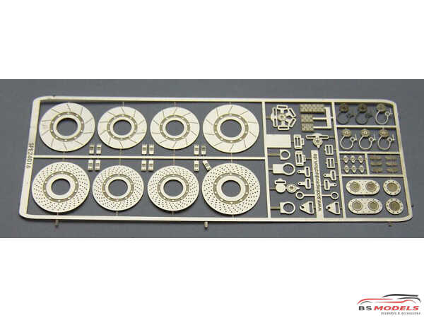 SPE24016 Sports- and Touringcar detail set Etched metal Accessoires