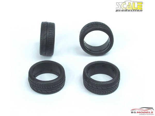 "SPR24007 19"" Profile Rubber Tires Multimedia Accessoires"