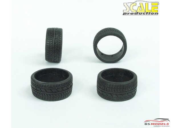 "SPR24008 19"" Ultra Low Profile rubber tires Multimedia Accessoires"